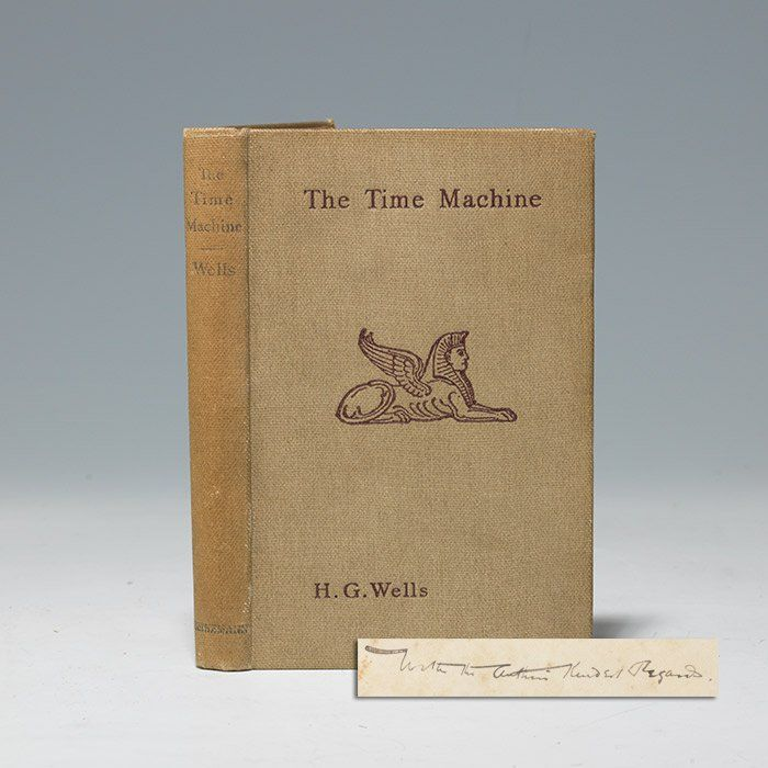 Inscribed presentation first edition, 1895 (BRB 104599)