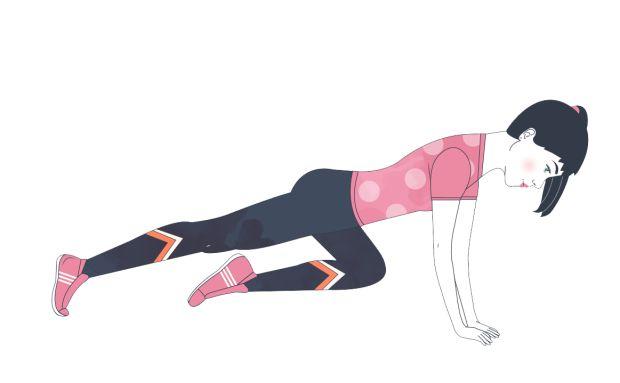Treenaa itsellesi pyykkilautavatsa – 4 tehokasta vatsalihasliikettä - Liikunta - ME NAISET
