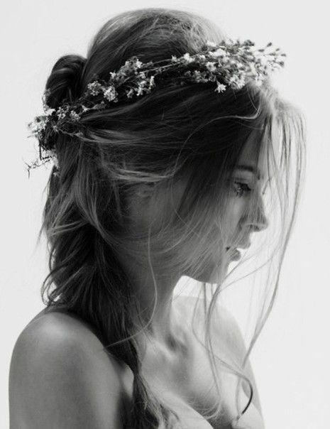 beautiful wedding hair idea