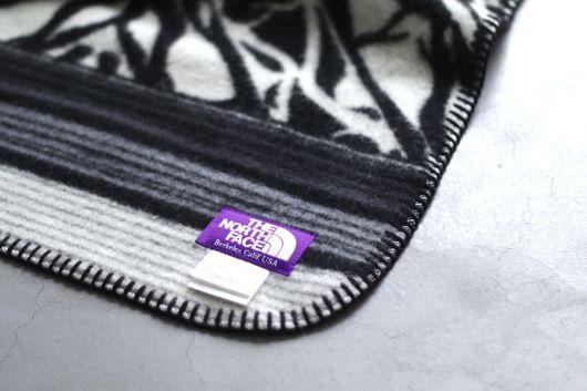 "THE NORTH FACE PURPLE LABEL (ザ ノース フェイス パープルレーベル)  ""Wool Cotton Jaquard Blanket Small"""