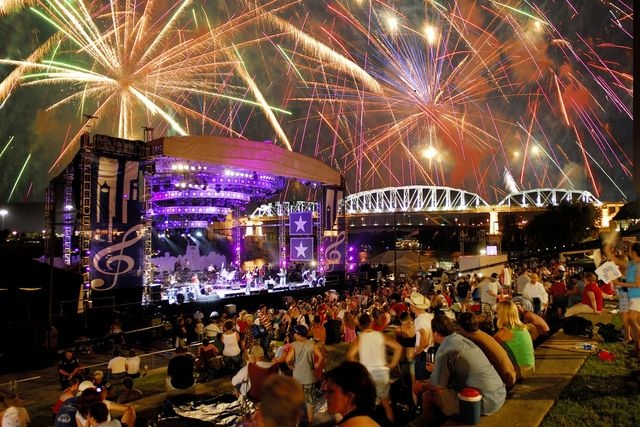 "Bloomberg.com mentions ""Nashville's Let Freedom Sing!"" among NYC, Boston and D.C. as a great destination to watch July 4th.  AND IT WAS AWESOME!!"