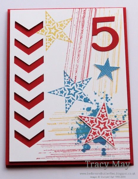25 best number of years images on pinterest birthdays cards and stampin up simply stars and gorgeous grunge chevron punch tracy may card making ideas birthday cards for kidshandmade bookmarktalkfo Images