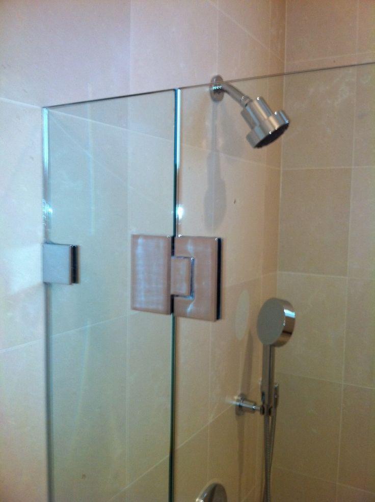 216 best bathroom design ideas images on pinterest glass for Bathtub shower doors hardware