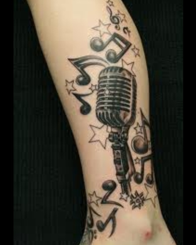 Tattoo Ideas Related To Music: 26 Best Music Related Ink And Art Images On Pinterest