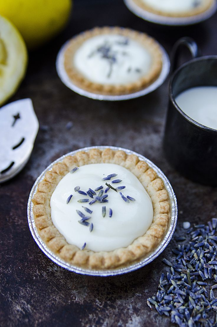 Lemon Lavender Tartlet