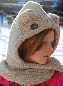 Knitting Pattern Hood With Ears : 17 Best images about scoodies on Pinterest Free pattern ...