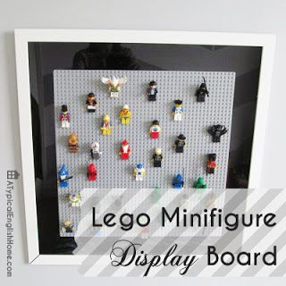 A Typical English Home: Lego Minifigure Display Board