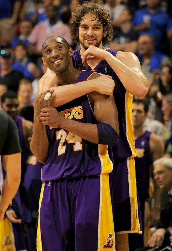 "Lakers News : Kobe Bryant: "" I Love Pau(Gasol) like a Brother """