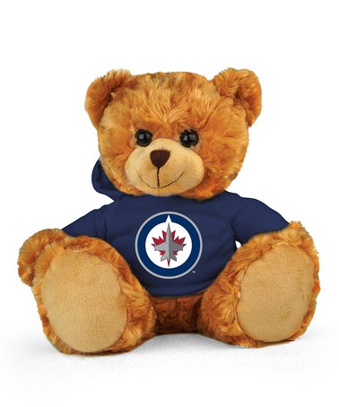 Take a look at this Winnipeg Jets Hoodie Bear by Plushland on #zulily today!