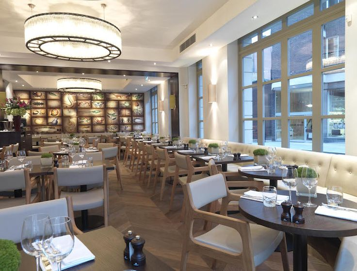 The Botanist is ideal for traditional afternoon tea in a posh environment