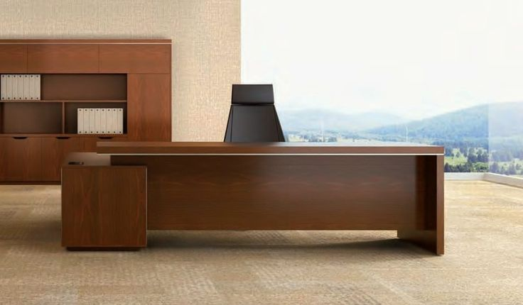 Boss's Cabin Dx Office Table With Side Credenza is great for any large cabin. We have a wide array of matching furniture at best prices. Shop online now!