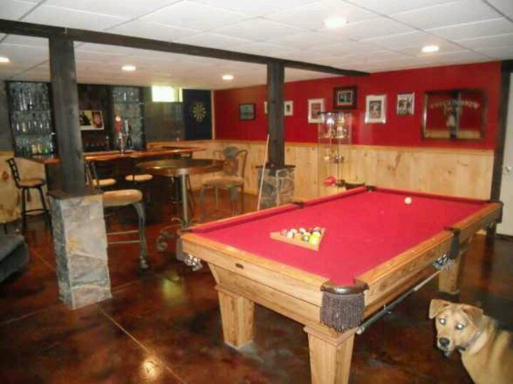Garage Man Cave With Pool Table : Best images about bad ass man cave on pinterest pool