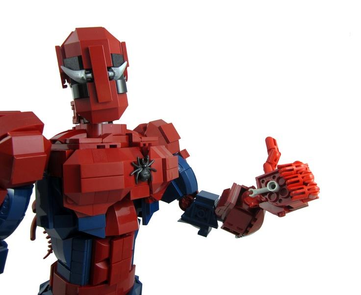 Amazing spider man poseable lego action figure finley pinterest amazing spider lego and - Lego the amazing spider man 3 ...