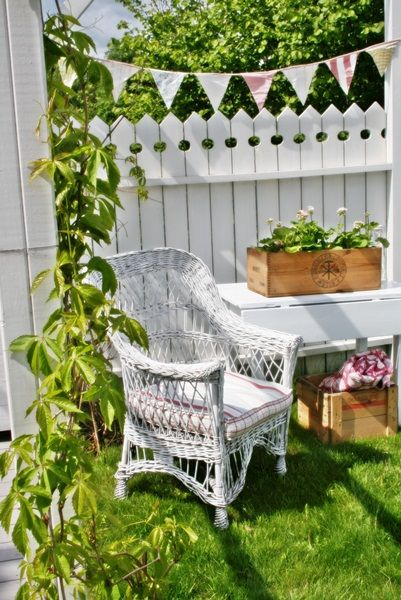 lovely #white #picketfence