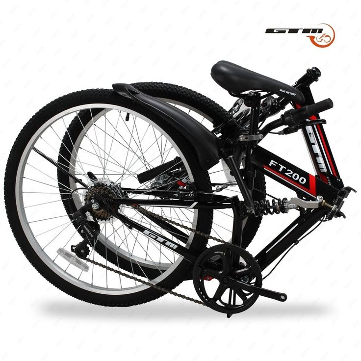 "Seller: Products Universal, Category: Hybrid Bicycles, Price: $129.99, Title: Folding Mountain Bike 7 Speed Black 26"" Bicycle Shimano Hybrid Suspension Sports"