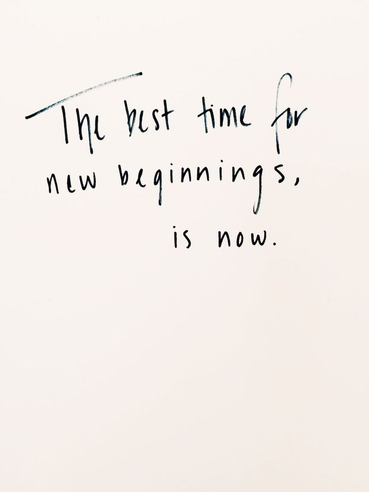 The best time for new beginnings is now // quotes #quotd