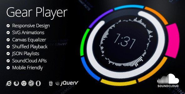 Here are top of 10+ Awesome jQuery Audio Video Player Plugins which are free, lightweight, features rich, responsive & accessibility.