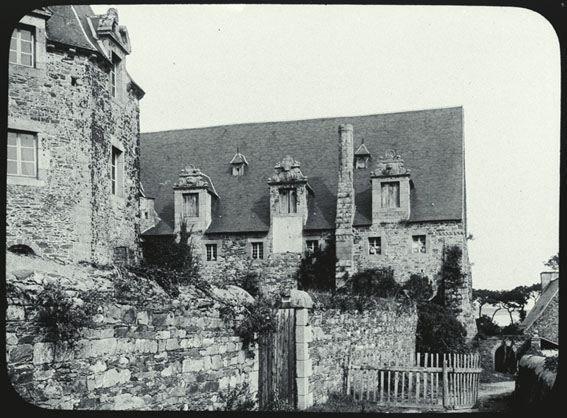 Abbaye de Beauport, Paimpol, Côtes-d'Armor, photo Théodore Amtmann (1846-1933)