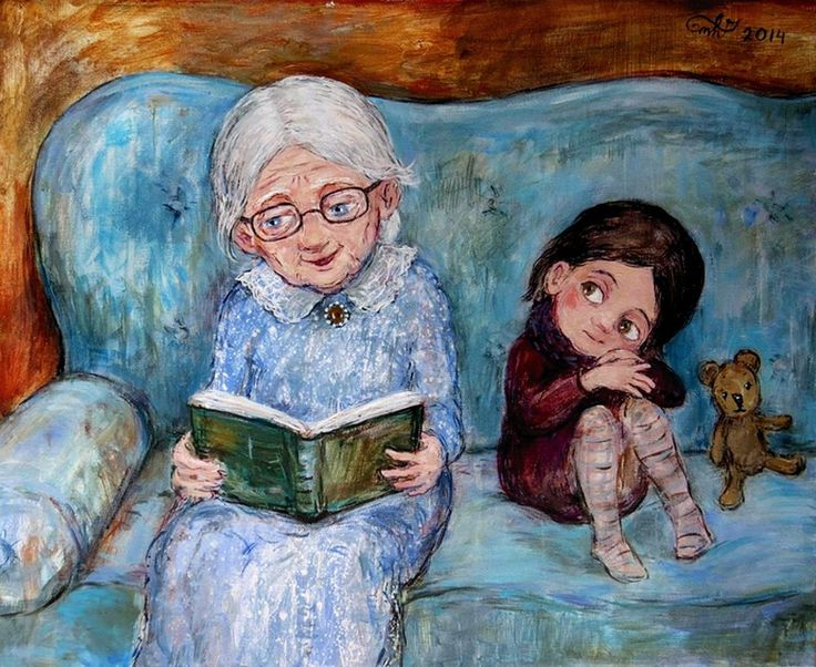 старик читает сказки картинка свалил американца ударом