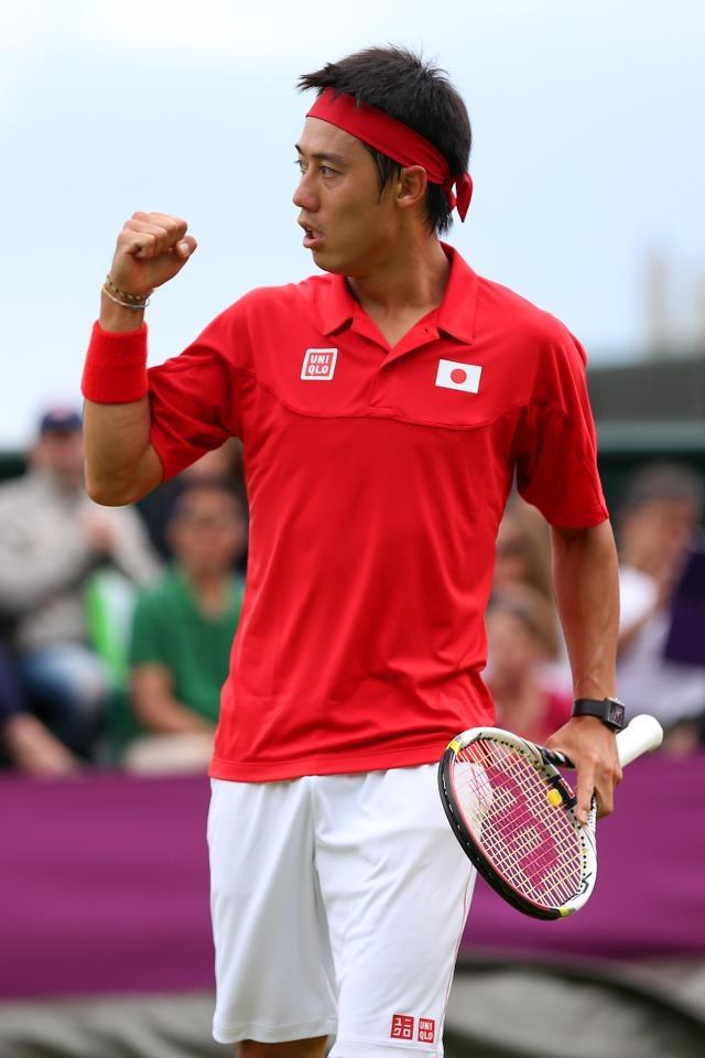 You did it ! Kei Nishikori 2012  Olympic, London