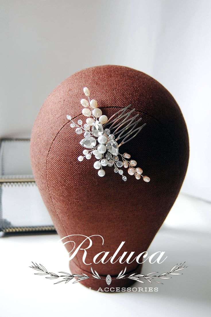 Excited to share the latest addition to my #etsy shop: Bridal Hairpiece Bridal Hair Accessory Bridal Hair Comb Bridal Headpiece Pearls and Crystals Wedding Item Bridesmaids http://etsy.me/2DpjohN #weddings #bridal #comb #accessories #bridalaccessories #bridalhaircomb #