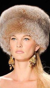 Модные головные уборы осень-зима 2014-2015 - 35 фото