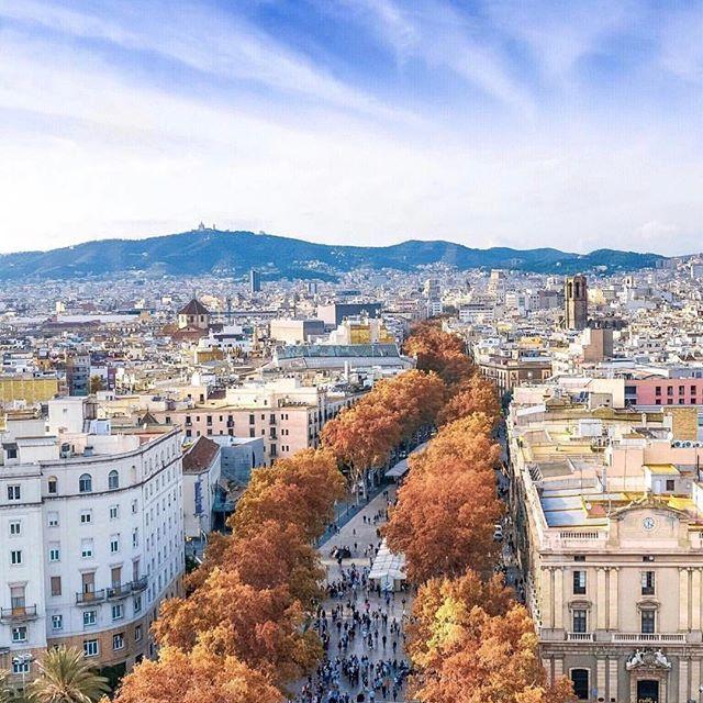 BARCELONA, SPAIN. #barcelona #spain Photo Credit: @toodles82 Via: @spain.vacations Chosen by : @toinou1375 ≕≔≕≔≕≔≕≔≕≔≕≔