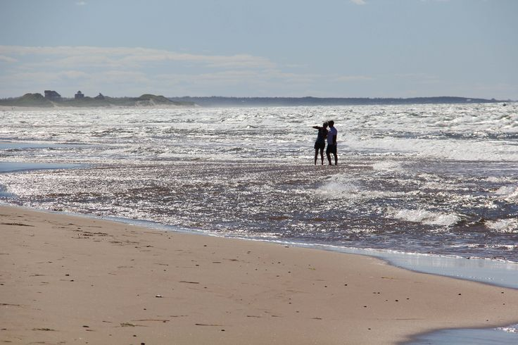 PEI's coastline contains many kilometres of sandy beaches, ideal for nearly solitary exploration.
