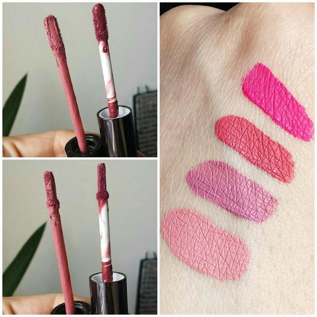 HeadInTheClouds: Golden Rose Liquid Matte Lipsticks