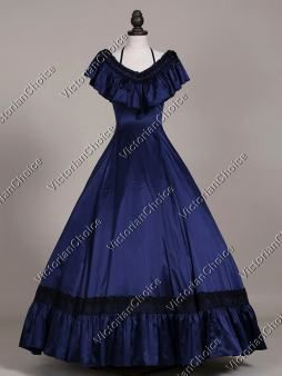 Victorian Edwardian Princess Titanic Prom Dress Vintage Ball Gown Theatrical Costume