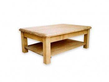 Konferenční stolek ze smrkového dřeva Mexicana 2