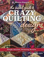 I am very excited to announce that my book The Visual Guide to Crazy Quilting Design: Simple Stitches, Stunning Resultsis available on pre-order (just follow the link). Not only that, ordering via amazon means you get a discount. It will be released early August. This I am excited about!