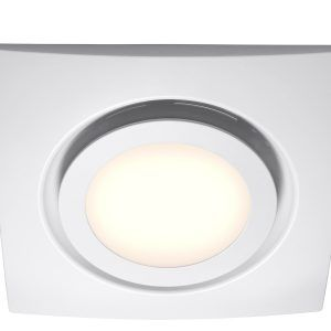 bathroom ceiling extractor fan with led light