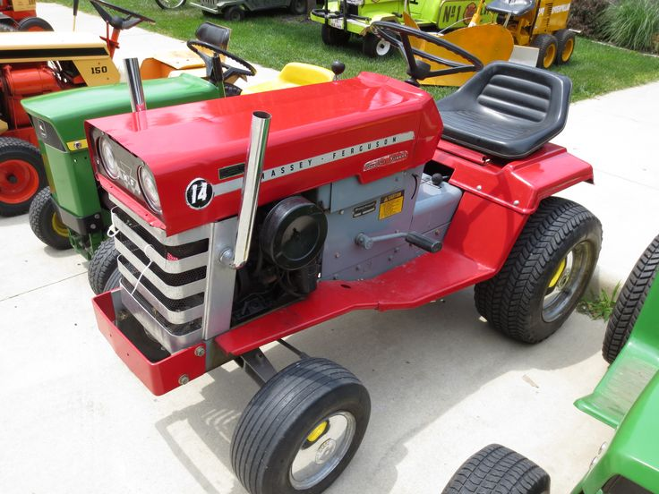 Massey Ferguson 14 Garden Tractor : Best massey ferguson images on pinterest antique