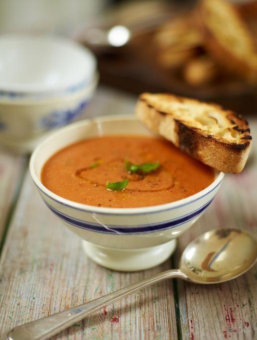 Roast tomato & bread soup | Jamie Oliver | Food | Jamie Oliver (UK)