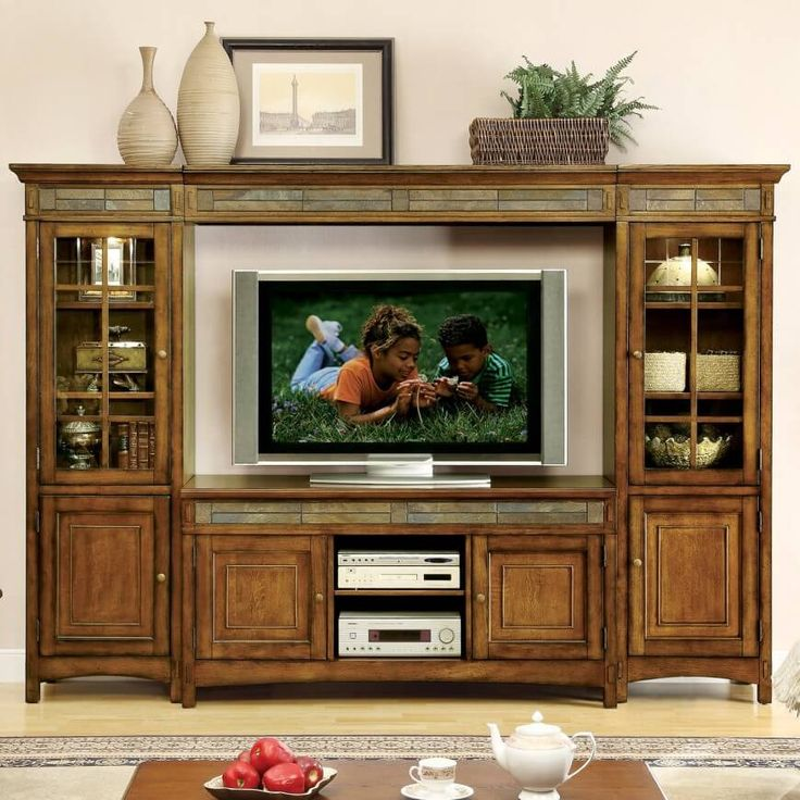 25+ best Large entertainment center ideas on Pinterest | Painted ...