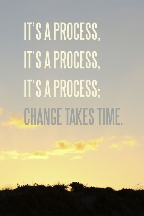 It's a process. slow & steady. make simple, manageable changes & don't worry about a timeline. focus day by day, until it becomes habit. the rest will fall into place.
