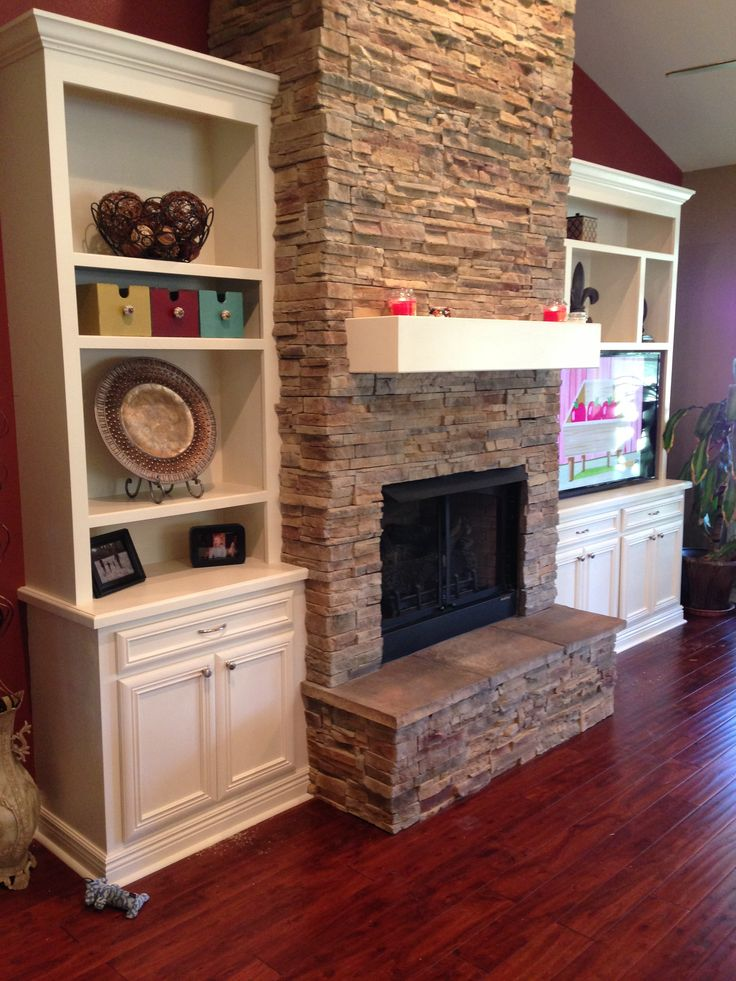My Daughters Box Room Right Side: My Fireplace Remodel. Love It!
