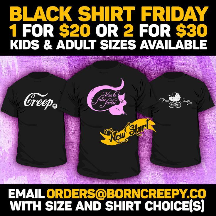 Skip the crowds and stuff these up your stockings! All sizes $20 or 2 for $30! #borncreepyco #borncreepy #creep #creepmafia #creeplife #creepy #goth #gothgoth #alt #alternative #punk #punkbaby #gothbaby #gothic