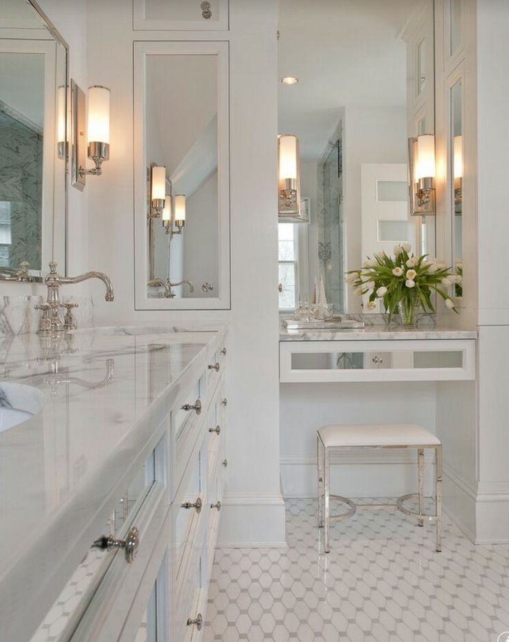 Inlove With This Bathroom It Just Has This Clean Look To It · Medicine  CabinetsMirror ...