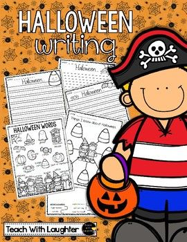 Included in this Halloween writing freebie you will find: - a writing web - writing paper (one with a rubric) in a choice of 2 writing lines - Halloween personal word list with pictures All in black and white to save your ink :) Enjoy!!