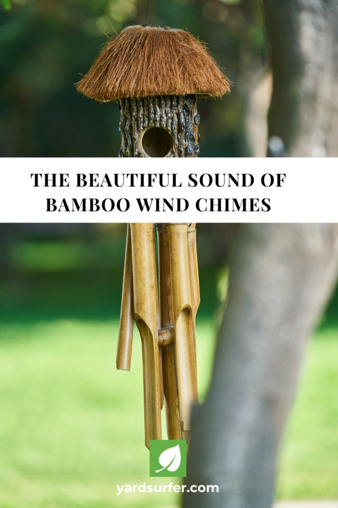 Listen To The Beautiful Sound Of The Bamboo Wind Chime Learn How