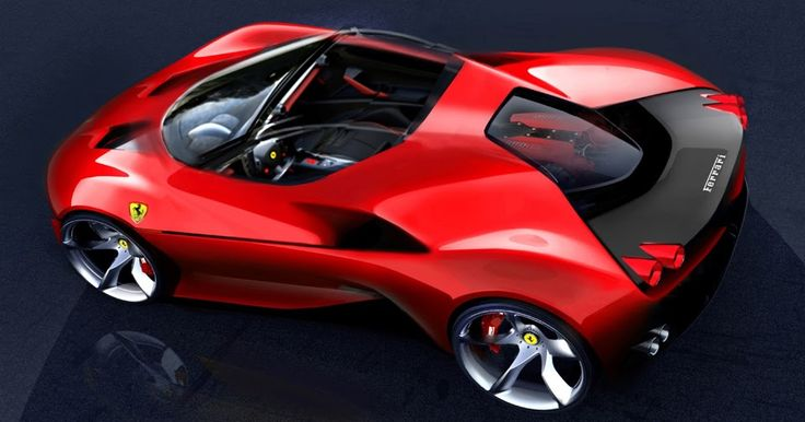 Ferrari's Future Designs Could Follow J50's Lead #Ferrari #Ferrari_488