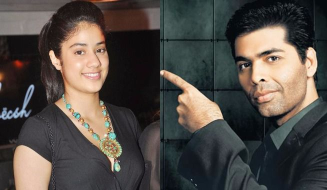 Karan Johar To Introduce Sridevi-Boney Kapoor's Daughter Jhanvi Kapoor