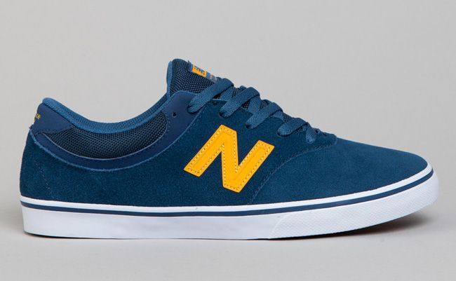 New Balance Numeric Quincy 254: Estate Blue & Gold Yellow