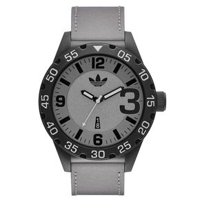adidas Originals \u0027Newburgh\u0027 Leather Strap Watch, available at