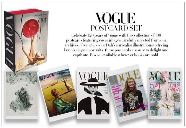 Capas da Vogue para colecionar | vogue-postcards