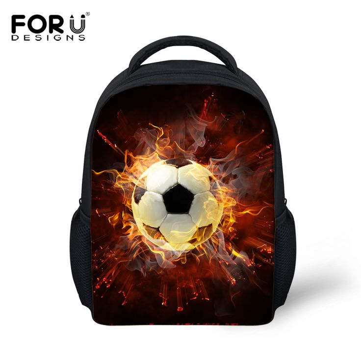 FORUDESIGNS 3D Flame Print School Bag For Boys Canvas Sac A Dos Children School Bag Kid Small Schoolbag Mochila Escolar Infantil