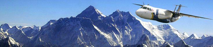 Everest Flight in Nepal, Mountain Flight in Nepal, Buddha Air, Yeti Airlines
