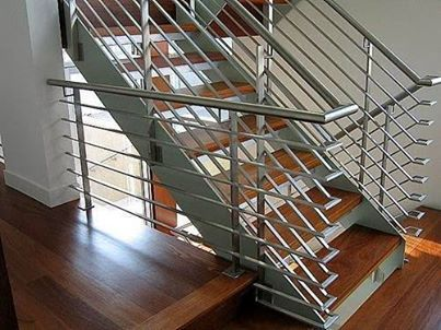 Stainless Steel Railings by ShanesStainless Creatively designed with innovative machines and technology. #Stainlesssteel
